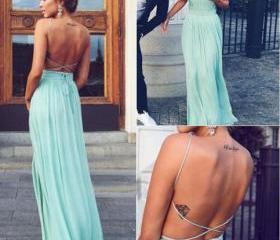 Backless Charming Pr..