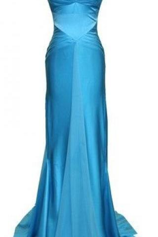 Blue Prom Dresses,Mermaid Prom Dress,Long Prom Dresses,Formal Evening Drsses,Long Homecoming Dress,Simple Prom Gowns