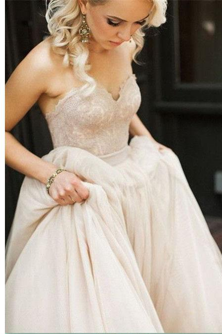 Lace Prom Dress,Sweetheart Prom Dresses With Belt,Strapless Fashion Prom Gowns,Sexy Party Dress,Custom Made Evening Dress